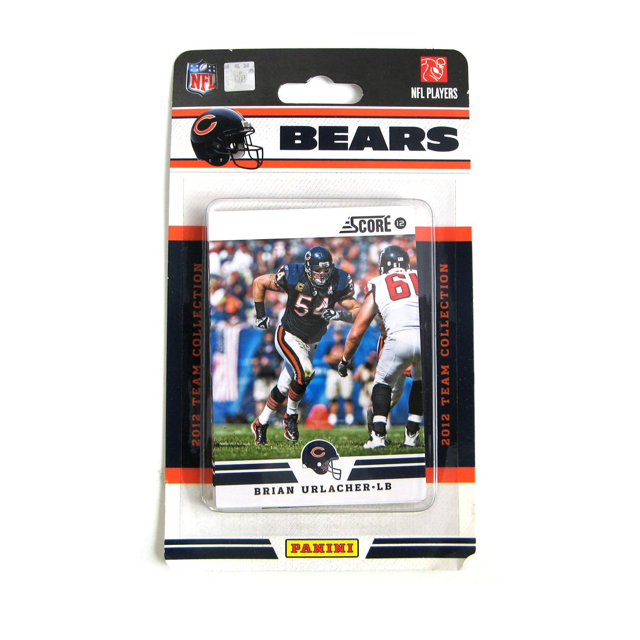 2012 Panini Chicago Bears Team Collection