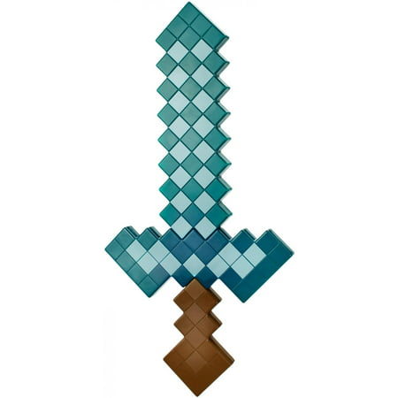 Minecraft Wither Head (Minecraft Large-Scale Diamond Sword for Role-Play)