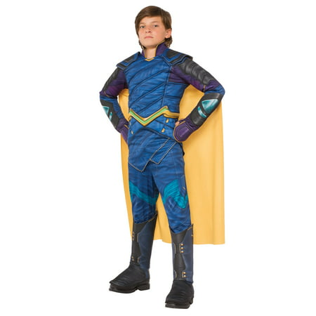 Thor: Ragnarok Deluxe Loki Child Costume (Thor Loki Halloween Costume)