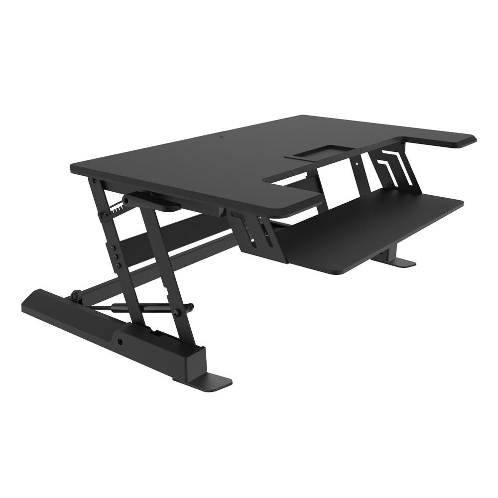 Sit Stand Desk Converter Canada 100 Ergo Standing 5