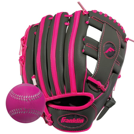 Franklin Sports 9.5u0022 RTP Series T-Ball Glove, Left Hand Throw