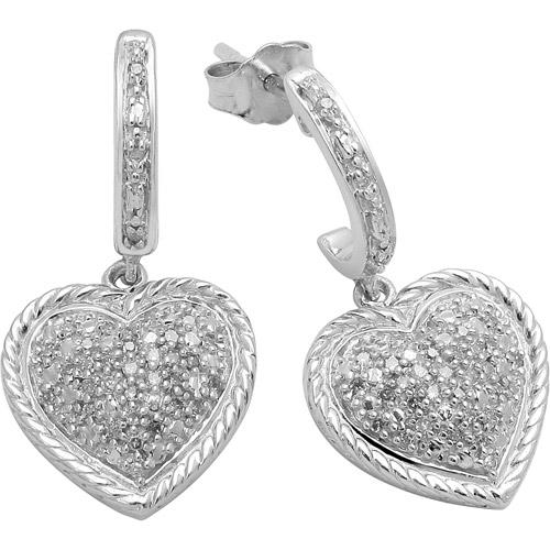 1/5cttw Diamond Fashion Earrings