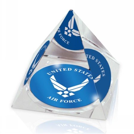 Paragon Innovations Company Usafpyr2 Mil Us Airforce Crystal Pyramid