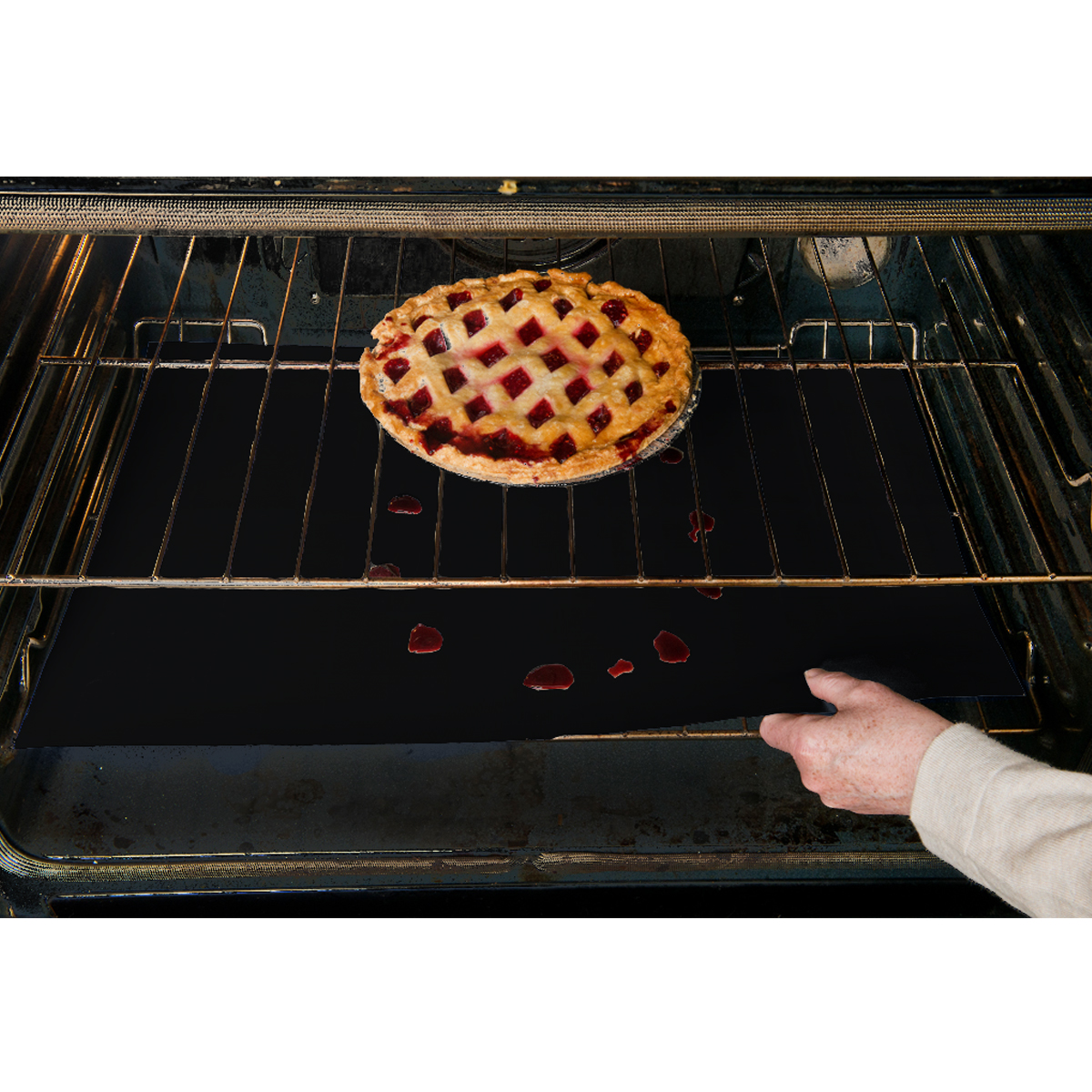 Evelots Reusable Extra Large Oven Liners, Durable Non-Stick, Set of 3
