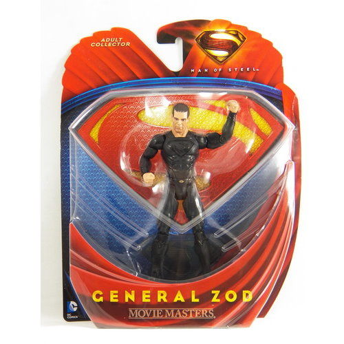 Movie Masters Superman: Man of Steel General Zod Action Figure
