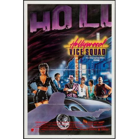 Hollywood Vice Squad Movie Poster 11x17 Mini Poster in Mail/storage/gift