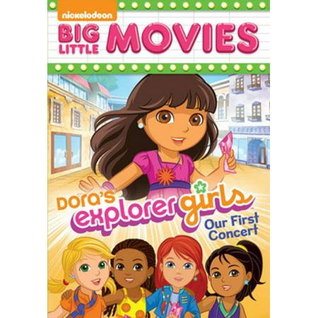 Dora's Explorer Girls: Our First Concert - The Explorer Girls