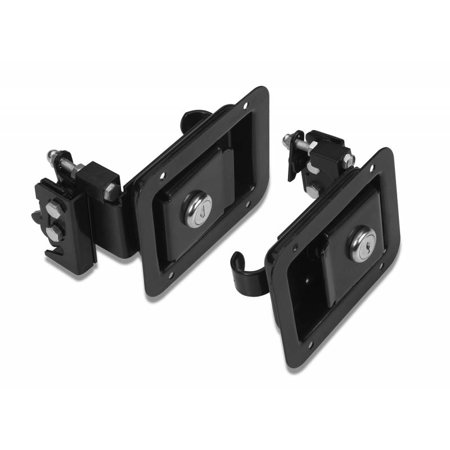 Bestop Paddle-style Door Handle Latches Kit Jeep 97-06 Wrangler; Set of two Paddle Handle latches, hardware 51252-01
