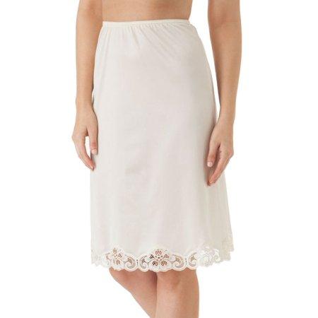 Women's Shadowline 2178 Lace Luxury 25 Inch Half (Lightweight Slip)