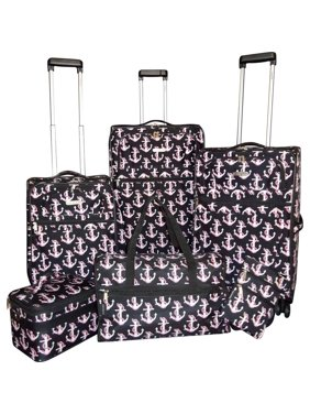 02e3b029a Free shipping. Product Image Karriage-Mate Anchor 6-piece Expandable  Spinner Luggage Set - 28