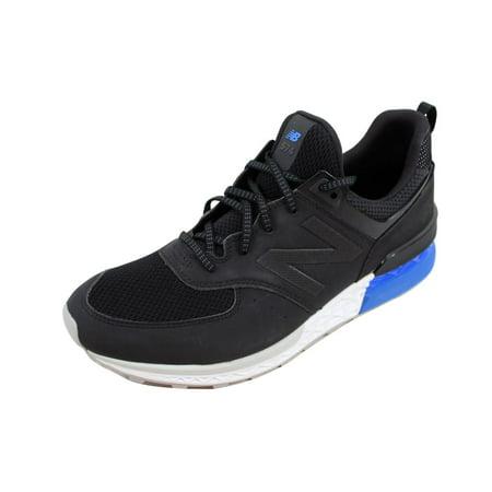 new york a1c4c b7298 New Balance - New Balance 574 Black White-Blue MS574SCS Men s - Walmart.com