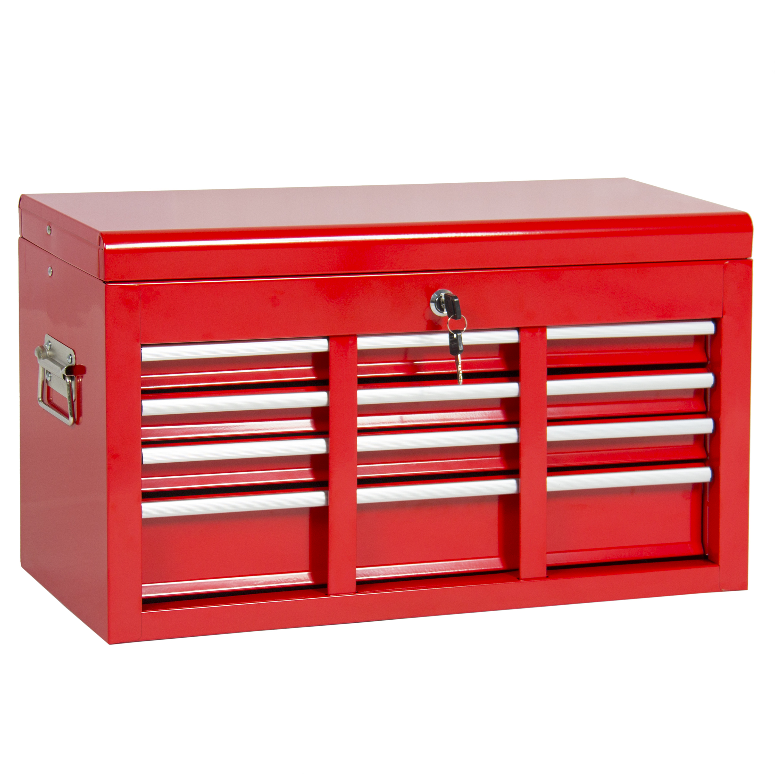 ... Best Choice Products Portable Top Chest Rolling Tool Storage Box  Cabinet Sliding Drawers ...