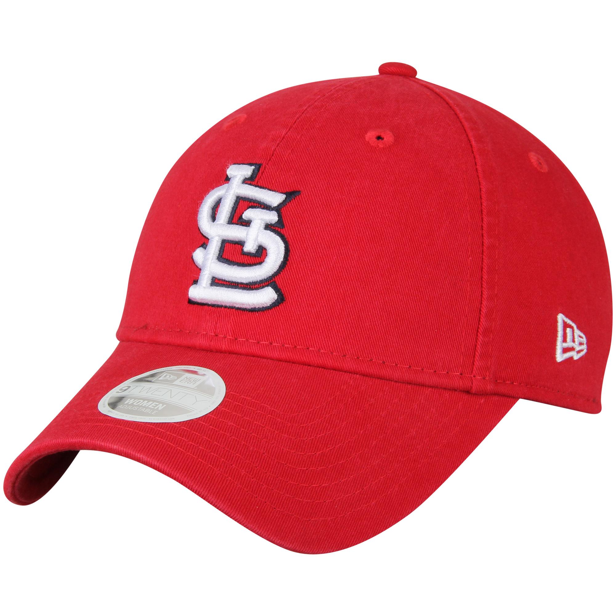 New Era St. Louis Cardinals Women's Red Preferred Pick 9TWENTY Adjustable Hat - OSFA