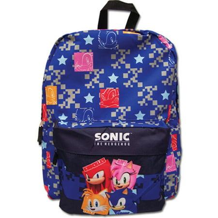 Sonic The Hedgehog Pattern Anime Backpack](Sonic Girls)