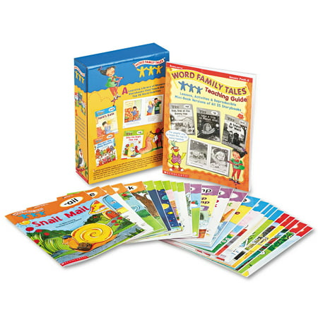 Scholastic Word Family Tales Teaching Guide, Grades Pre K-2, Softcover, 16 Pages - Another Word For Halloween Party