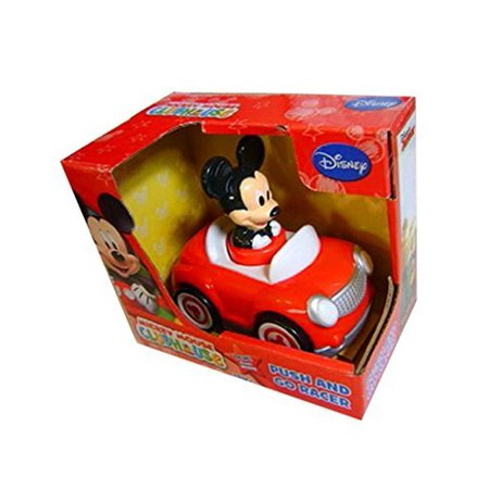 Mickey Mouse Push and Go Racer Car Disney (Cheapest Times To Go To Disney World 2015)