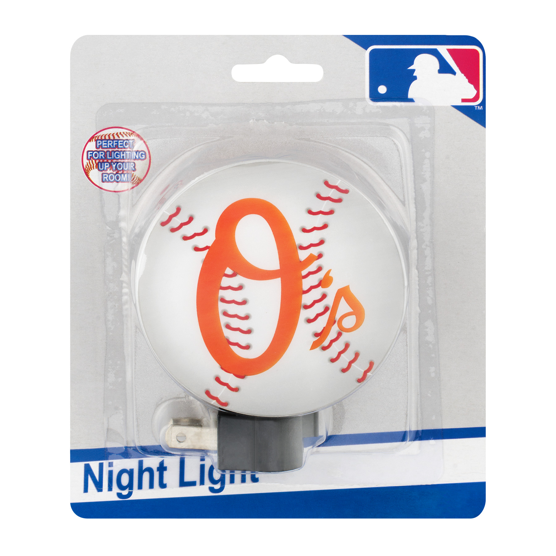 MLB Night Light Baltimore Orioles, 1.0 CT