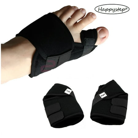 0dcae428fd HappyStep 1 Pair Bunion Splint, Hallux Valgus Corrector, Bunion Corrector,  Toe Straightener, Big Toe Alignment and Bunion Pain Relief - Walmart.com