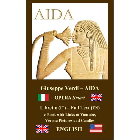 AIDA (ENGLISH - Italian) - eBook