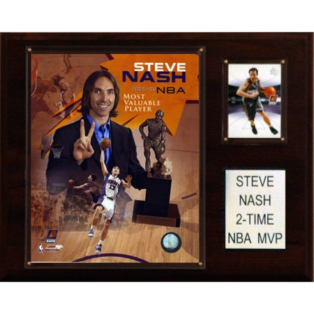 C Collectables Nba 12X15 Steve Nash 2 Time Nba Mvp Phoenix Suns Player Plaque