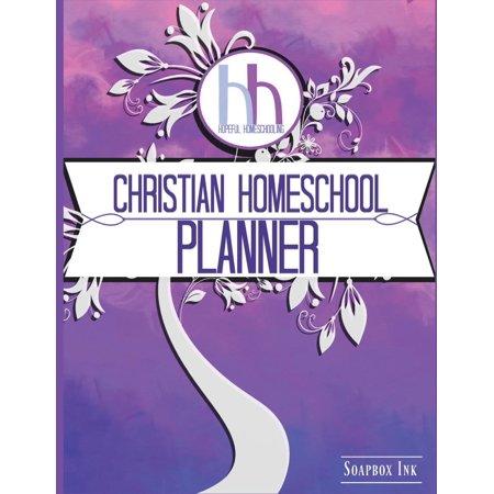 Hopeful Homeschooling Christian Homeschool Planner: Planner, Journal and Record Keeper (Paperback)