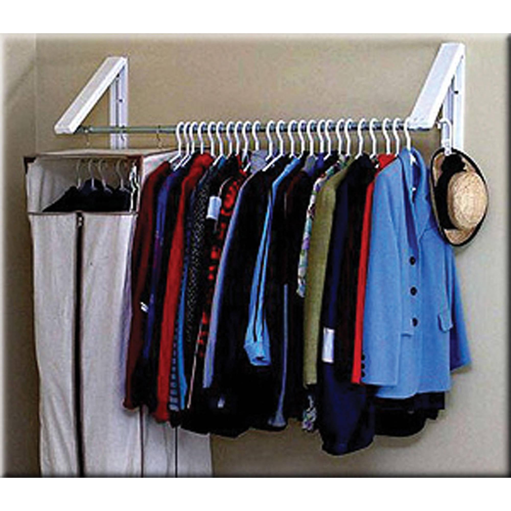 InstaHANGER QuikCLOSET Clothes Storage System