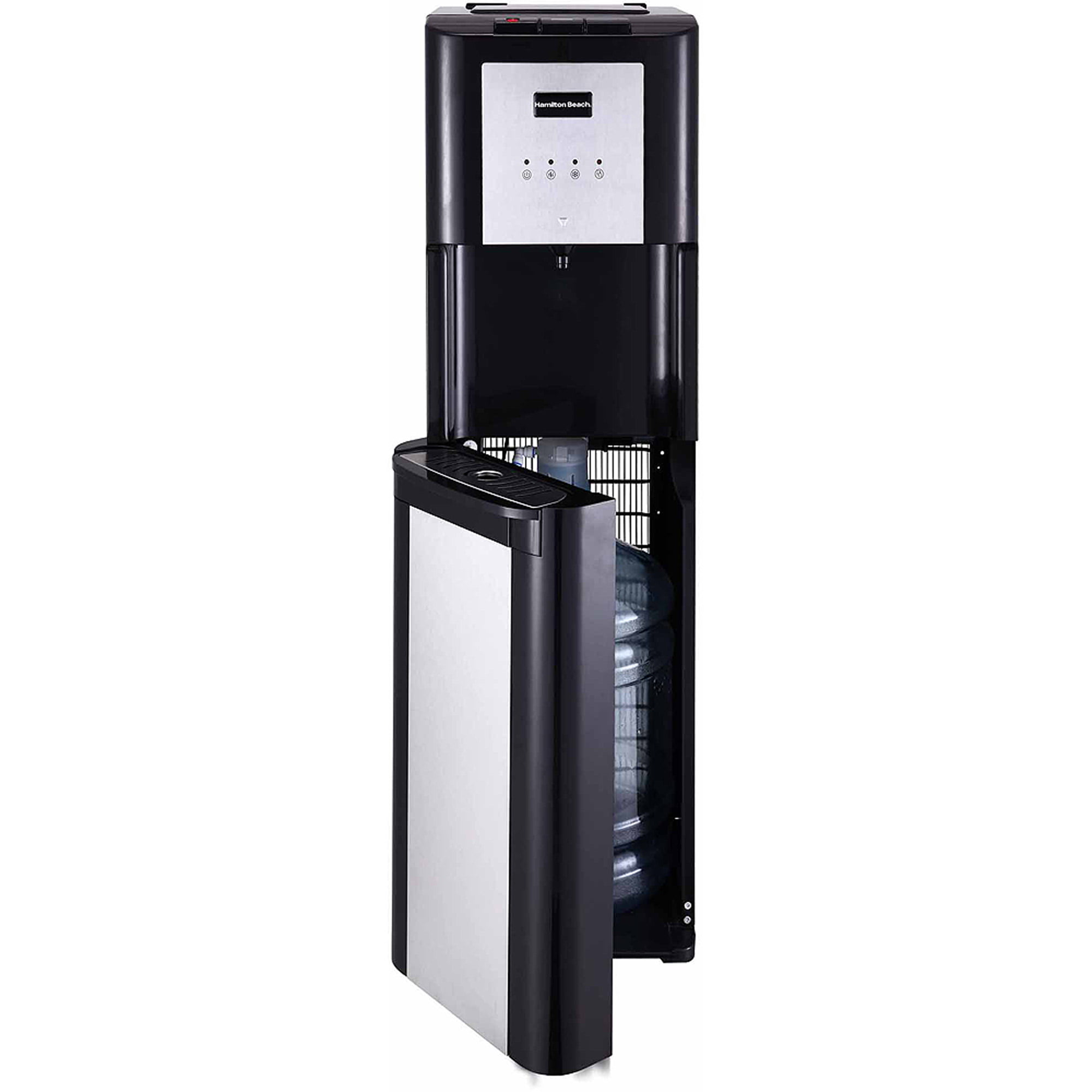 hamilton beach bl14w bottom loading water dispenser with hot cold and