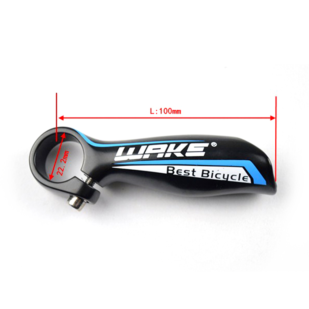 Bicycle Handlebar Ends Mountain Bike Handle Bar Ends 22.2mm 2× Aluminum Alloy