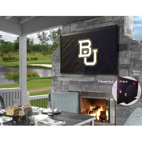 NCAA Outdoor TV Cover by Holland Bar Stool, 60'' x 37'' - Baylor Bears