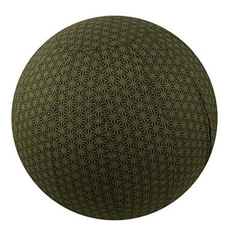 Yoga Ball Cover Size 55cmDesign Olive Geometric - Global Groove (Y)