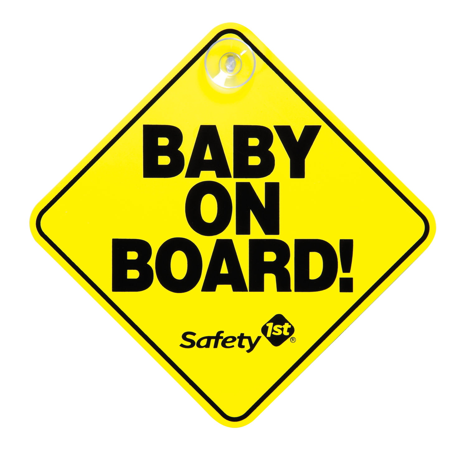 Twins On Board Car Sign Suction Cup Car Window Sign Baby On Board Sign for Mum /& Baby