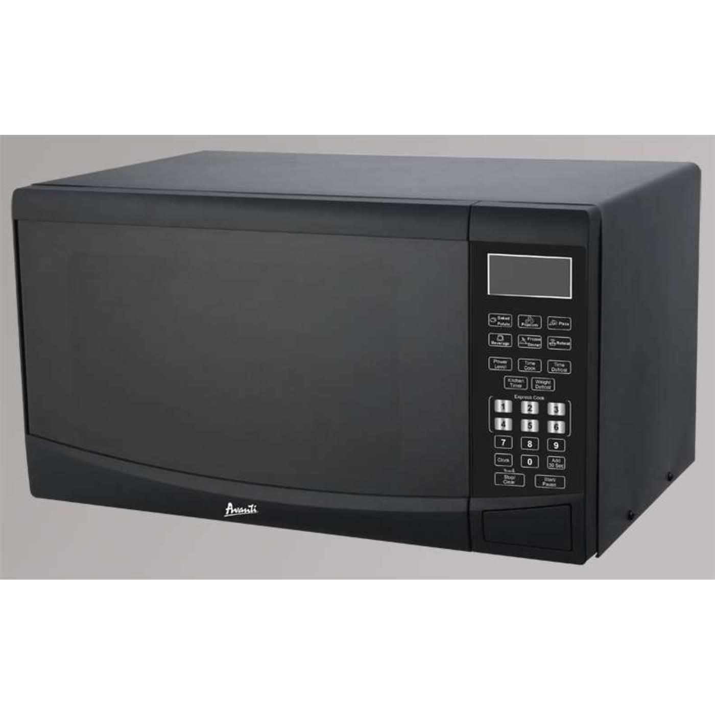 Avanti 0.9 CF Touch Microwave - Black