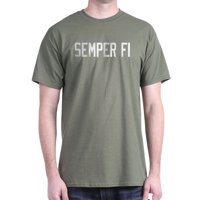 USMC Semper Fi T-Shirt - 100% Cotton T-Shirt