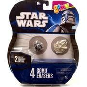 Star Wars Star Wars Gomu Erasers 4-Pack