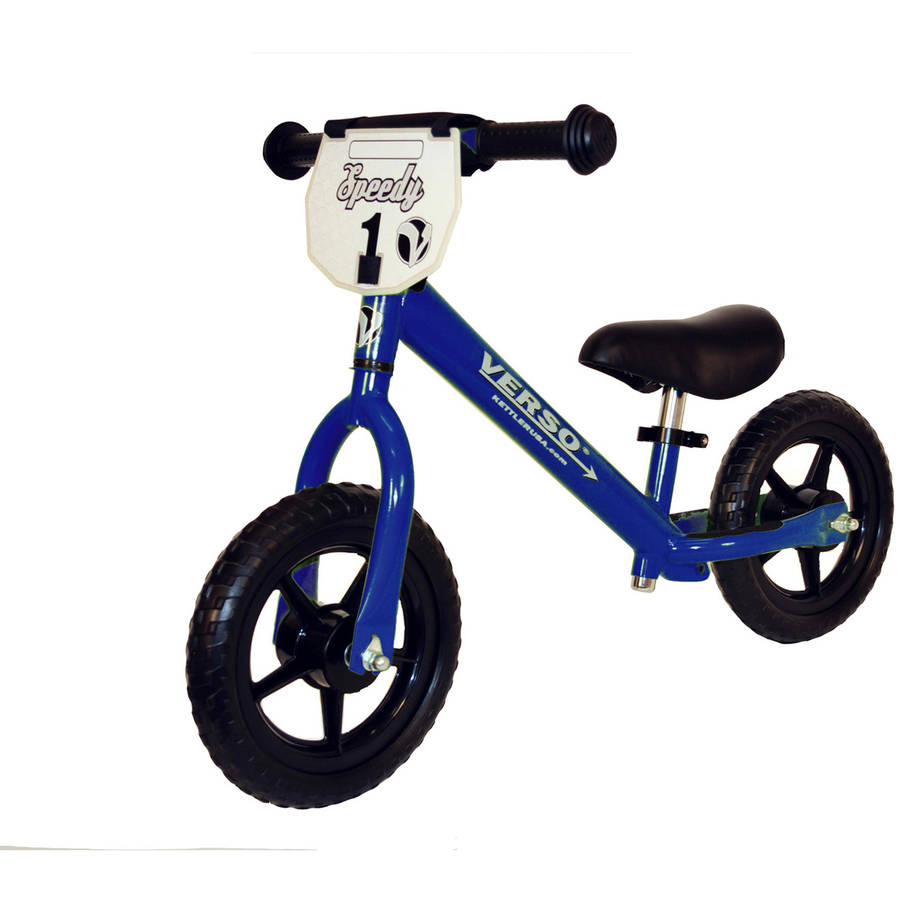 "Verso 10"" Blue Speedy Balance Bike"