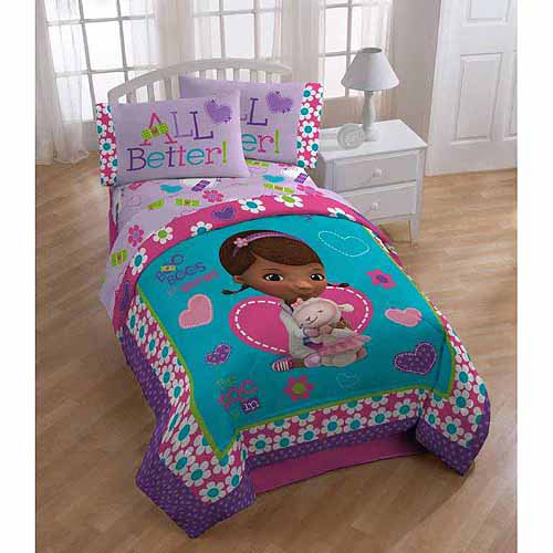 Disney Doc McStuffins Good as New 4-Piece Toddler Bedding Set ...