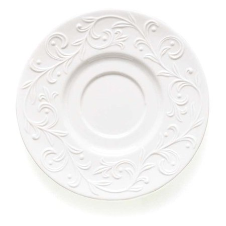 Lenox Opal Innocence Carved Saucer - Set of 4