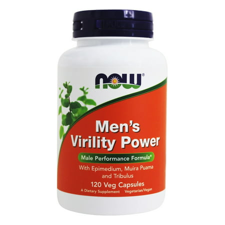 Male Virility Pills (NOW Foods - Men's Virility Power - 120)