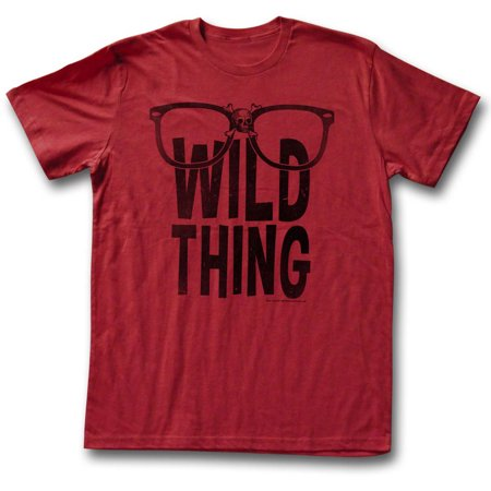 Major League Men's  Wild Thing T-shirt Red - Wild Thing Major League