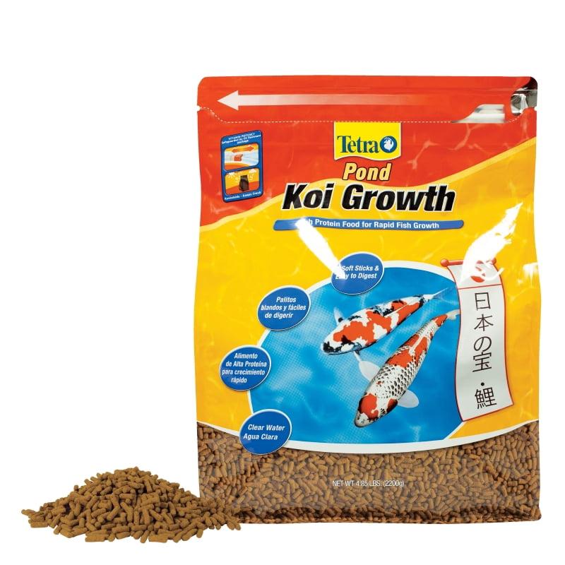 TetraPond Koi Growth 4.85 Pounds, Soft Sticks, Pond Fish Food