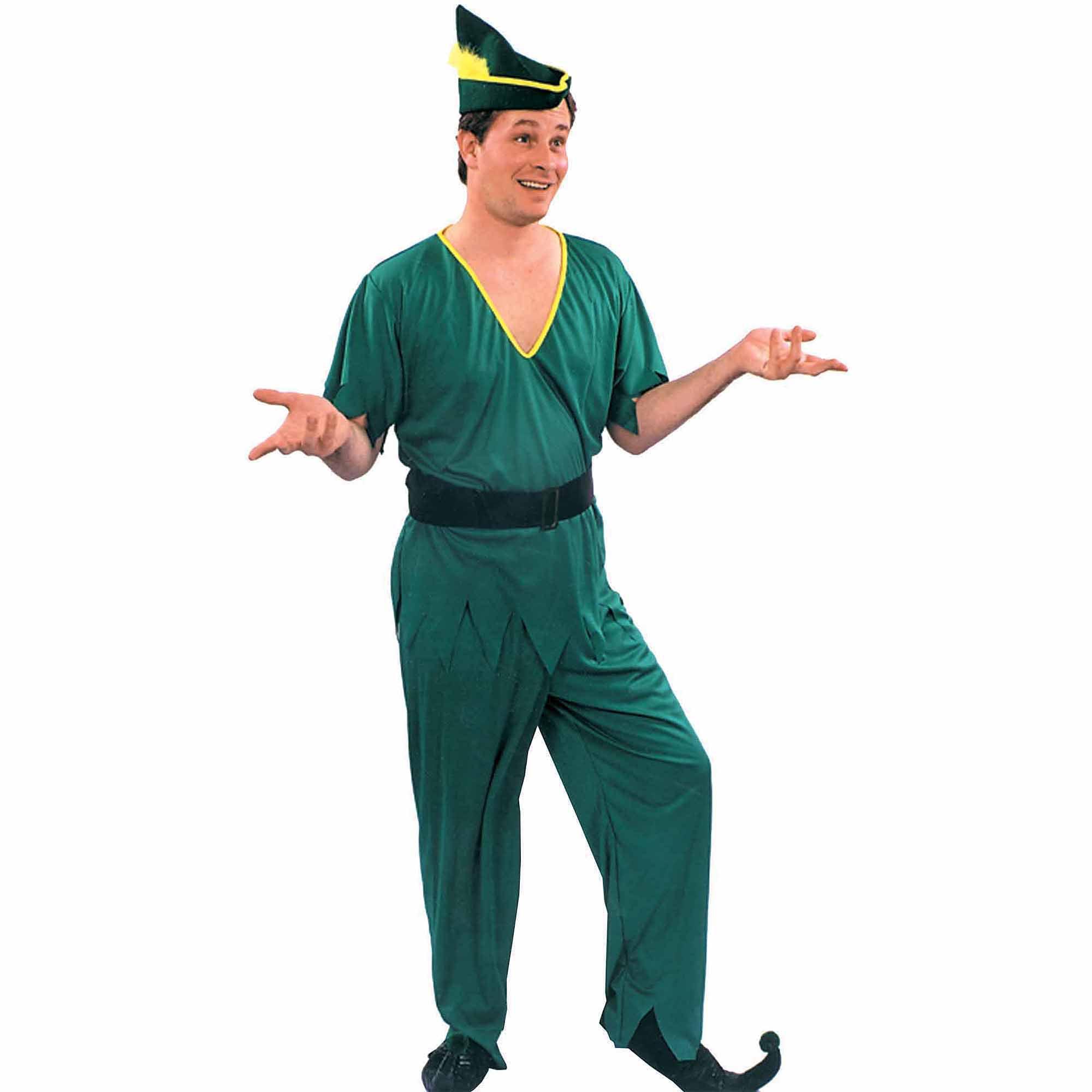 Peter Pan Robin Hood Stile Unisex Adult Costume