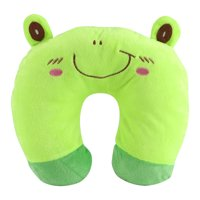 YLSHRF Animal Travel Neck PP Cotton Pillow Soft U Shaped Car Head Rest Toy Cushion, U Animal Pillow