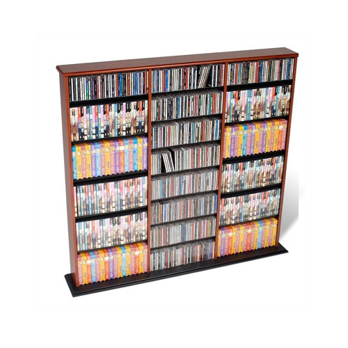 Prepac Triple Width Media Rack by Prepac
