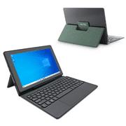 """AVITA MAGUS II 10.1"""" HD Screen Windows 2-in-1 Tablet with Folio Keyboard Feat. Intel, 4GB RAM, 64GB Storage, WiFi, Green"""