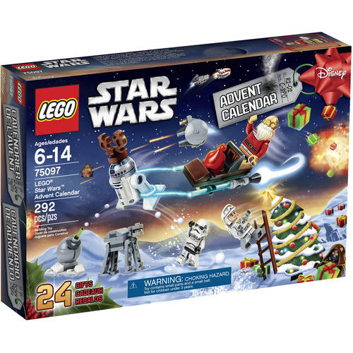 LEGO Star Wars Advent Calendar 75097 - Walmart.com