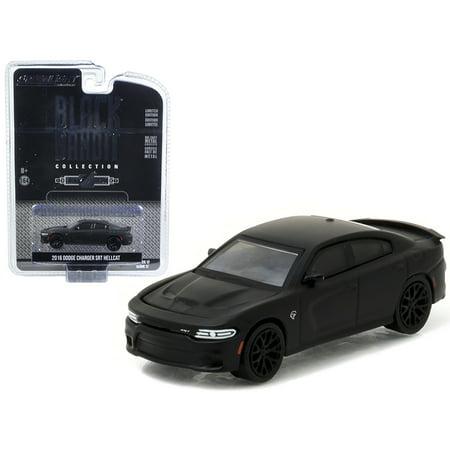 2016 Dodge Charger SRT Hellcat Black Bandit 1/64 Diecast Model Car by  Greenlight