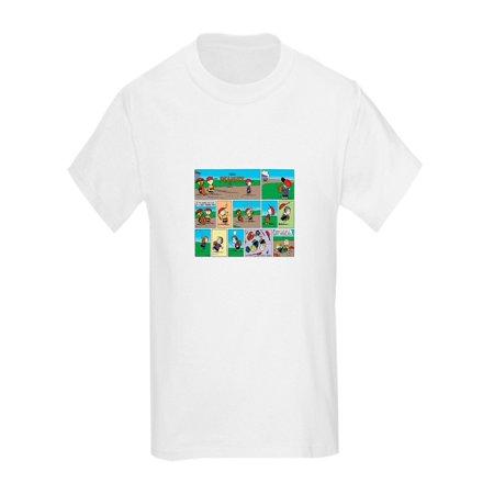 CafePress - Great Throwing Arm - Kids Light T-Shirt (Throwing Arm)
