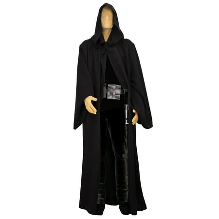 Black Sith Costume Robe Men's Medium - Sith Robes For Sale