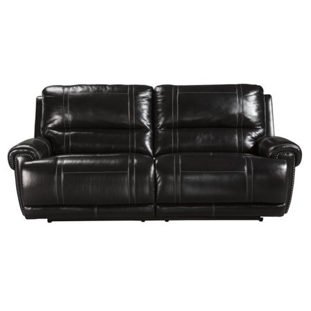 Terrific Ashley Paron Leather 2 Seat Reclining Sofa In Antique Home Interior And Landscaping Elinuenasavecom