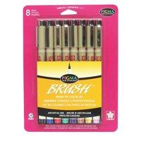 Sakura Pigma Brush Pen Set, 8-Pens